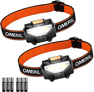 Catálogo de linternas omeril frontal led