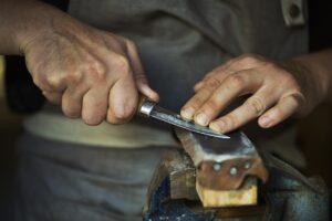piedra de afilar para cuchillos y navajas