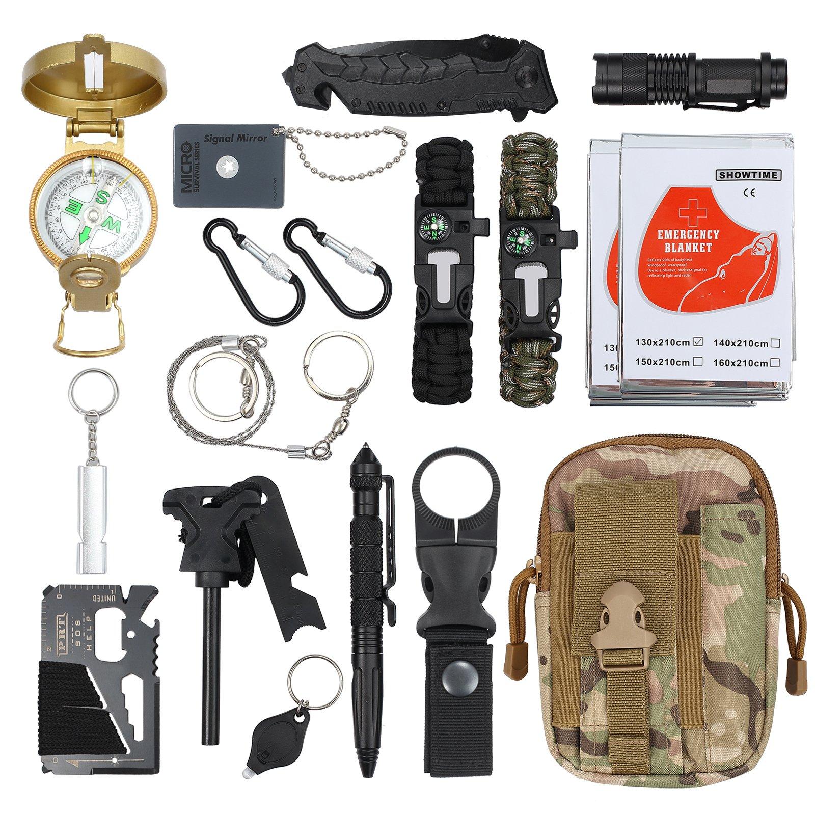 El top de kit supervivencia militar para usted