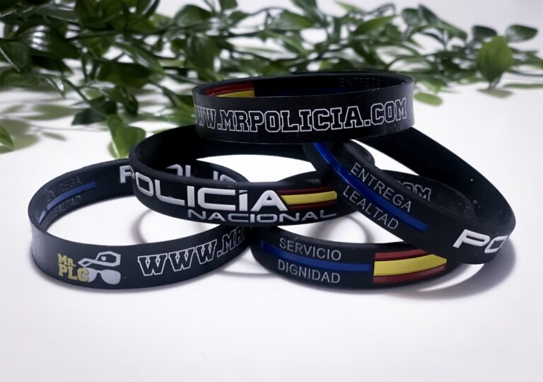La selección de pulseras policía nacional para usted