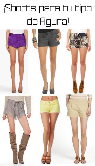 Lista de pantalones cortos