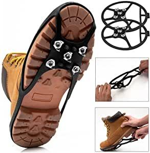 Nuestra selección de crampones para zapatos para usted