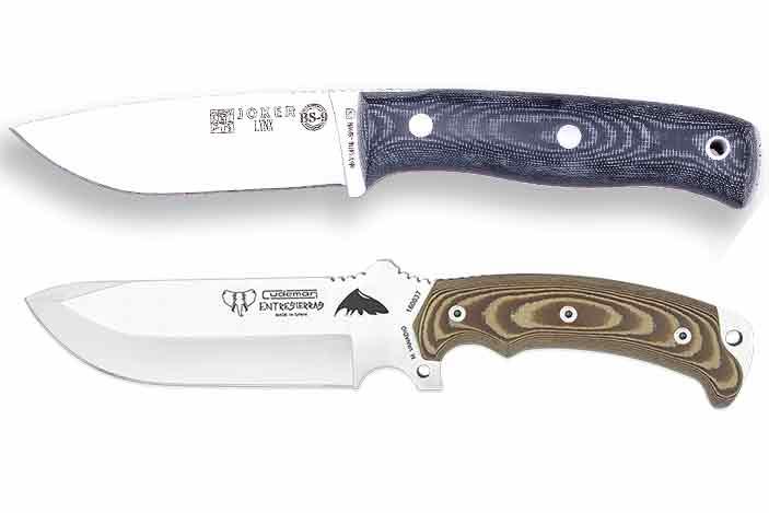 Nuestra selección de supervivencia y naturaleza cuchillos para ti