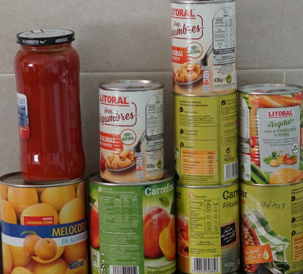 Nuestro catálogo de comida supervivencia para usted