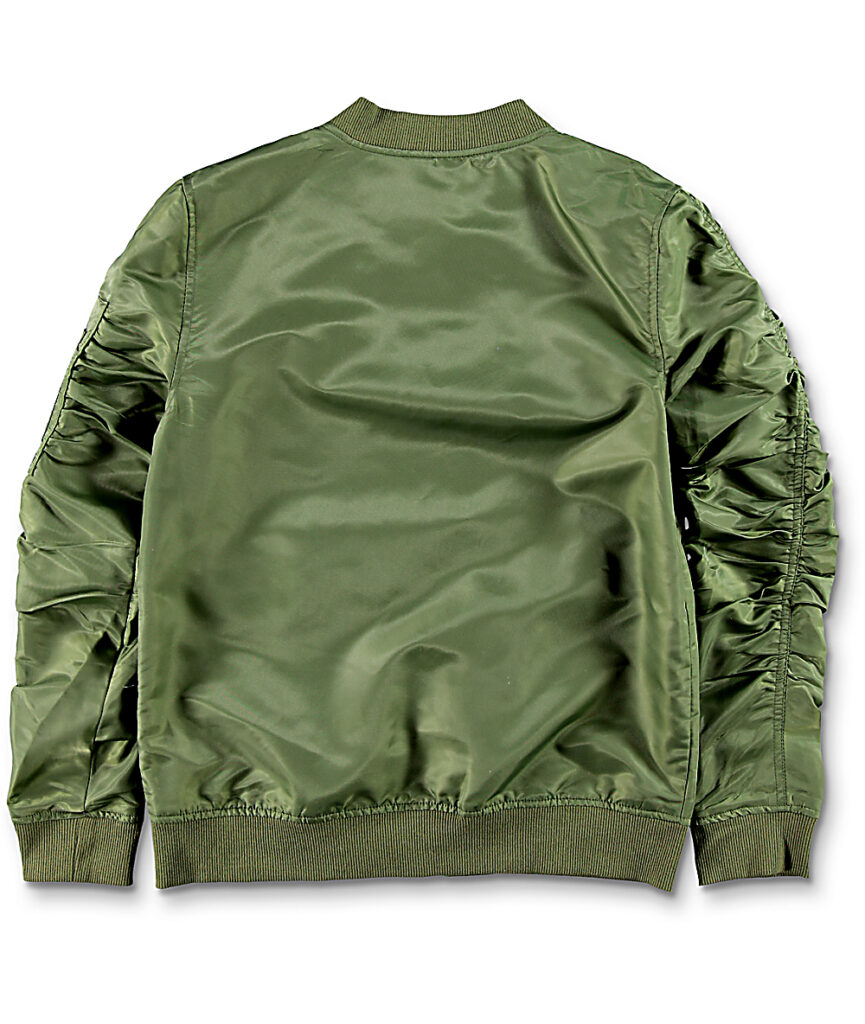 Nuestro top de chaqueta bomber verde para usted