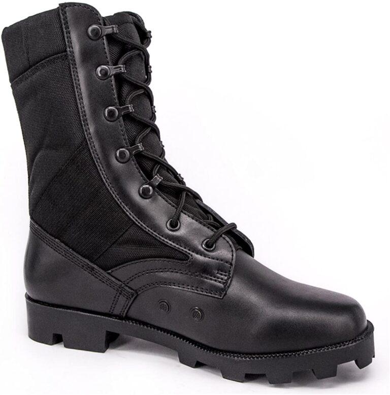 Selección de botas de policía para usted