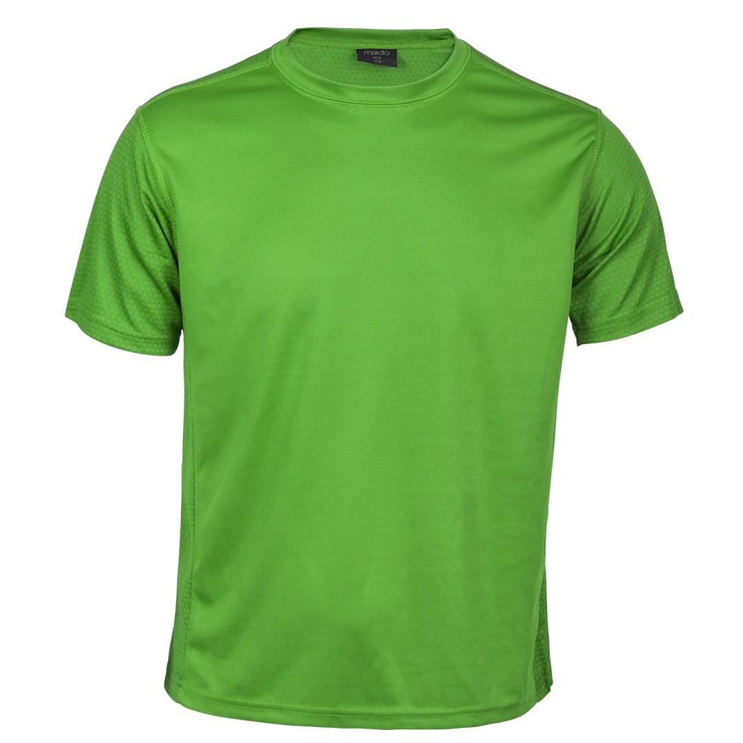Selección de camiseta tecnica verde para usted