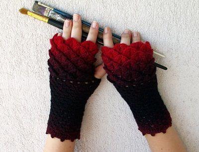 Selección de guantes mitones