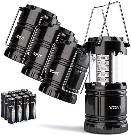 Selección de lamparas de camping para usted