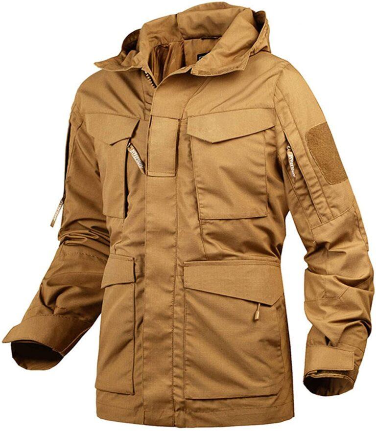Catálogo de chaqueta táctica para ti