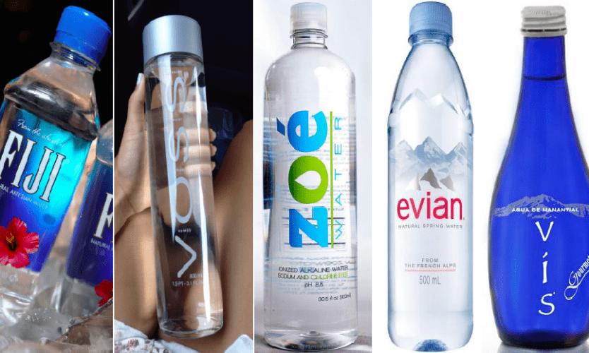 La lista de botellin agua