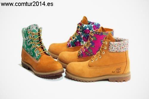 Catálogo de botas timberland chica