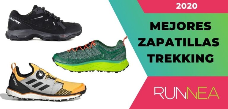 Nuestra selección de zapatillas para trekking para usted