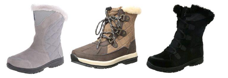 Selección de botas comodas para caminar