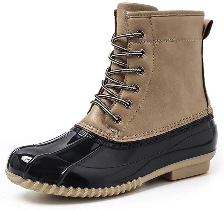 Selección de calzado impermeable mujer