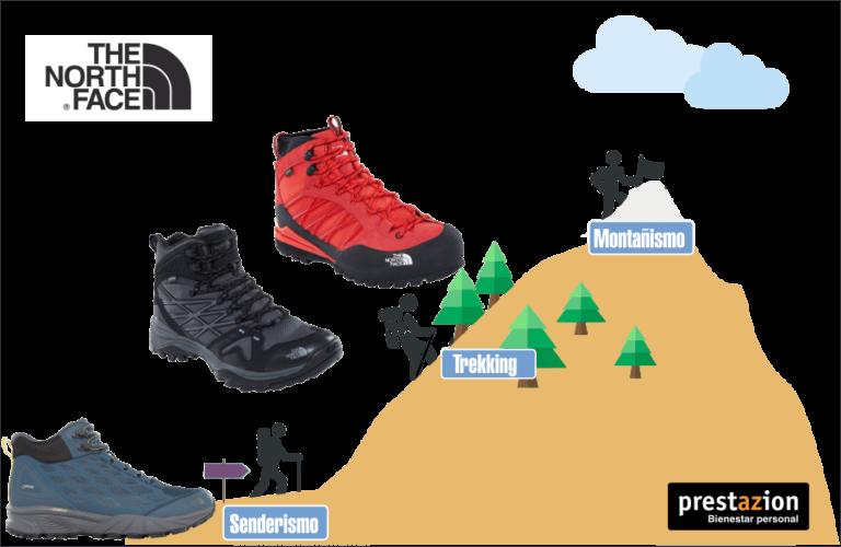 Selección de trekking botas para usted